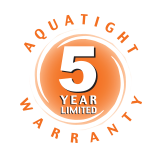aquatight-5-year-warranty-logo