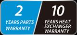 Aquatight Smart Inverter Warranty logo